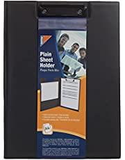 Mintra Double Plain Sheet Holder A4 - Black