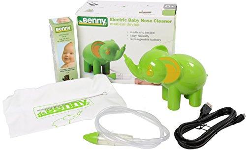 Benny Nasal Aspirator Vacuum Elephant