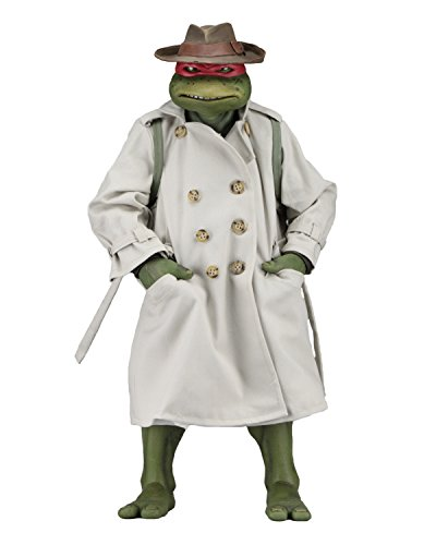 NECA TMNT (1990 Movie) Raphael Disguise 1/4 Scale Action Figure ()