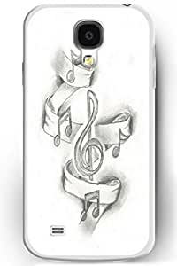 Samsung Galaxy S4 Back Cover Hard Case Ultra Slim Fit Dancing Music for Women by icecream design