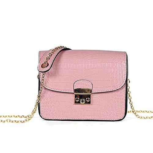 Handbag Square 7 Haoxiaozi Bag 7 Messenger Minimalista Moda Small Mini Spalla Chain Package ZUUz6YnqP