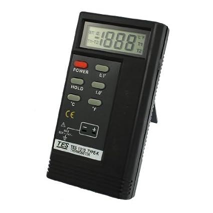Amazon.com: DealMux K Tipo LCD Sensor de Temperatura Termômetro Digital, -50-200 C, DC, 60V, AC, 24V: Electronics