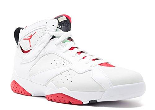 Nike Air Jordan 7 Retro [304775-125] Men Casual Shoes Hare Bugs Bunny White/Red (Nike Air Jordan 7 Vii Retro 2015)