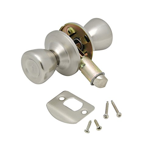 AP Products 013-203-SS Passage Door Knob, Stainless Steel