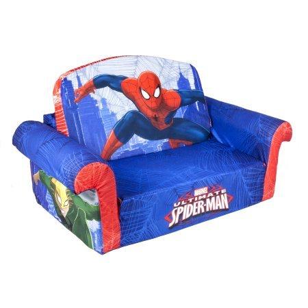 Marshmallow 2-in-1 Flip Open Sofa (Marvel Spiderman)