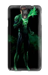 Tpu Shockproof/dirt-proof Green Lantern Cover Case For Galaxy(note 3)