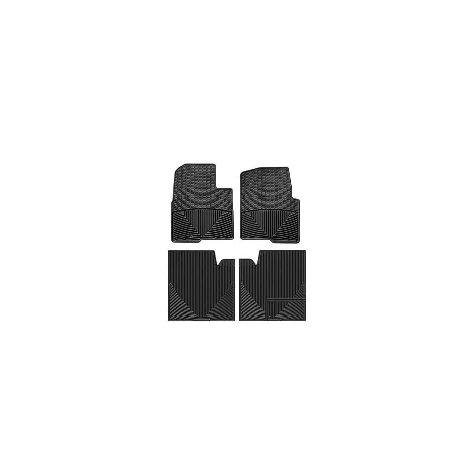 WeatherTech   W239 W274   2012 Ford F 150 Black All Weather Floor Mats Rows 1 2