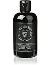 Crown Shaving Beard Balm or Wash with Aloe, Shea Butter and Almond Oil, 120 ml/4 oz