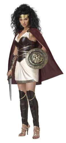 California Costumes Warrior Queen Set, Multicoloured ,  Medium  (8-10) -