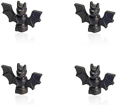 LEGO Halloween Minifigure - Black Bat Animal Accessory (Set of 4)