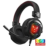 whiteswan K3 Headset Over Ear Wired Headphone Gaming Headset with...