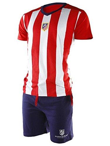 Pijama Atlético de Madrid adulto verano - M: Amazon.es: Deportes y ...