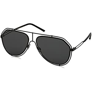 Dolce & Gabbana Unisex DG2176 Black/Grey Sunglasses