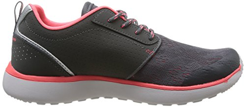 Skechers Counterpart - zapatilla deportiva de material sintético mujer gris - Grau (CCCL)
