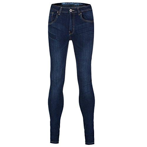 Soul Star–Skinny Fit Stretch Jeans azul marino