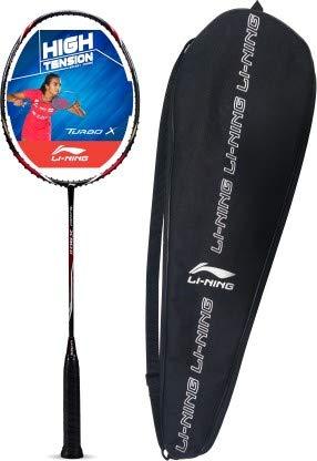 Li Ning Turbo X 90  II Multicolor Strung Badminton Racquet Pack of: 1, 86 g