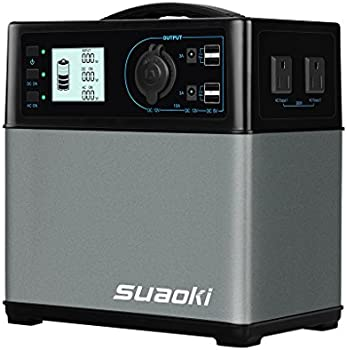 Suaoki 400Wh/120000mAh Portable Lithium ion Power Supply
