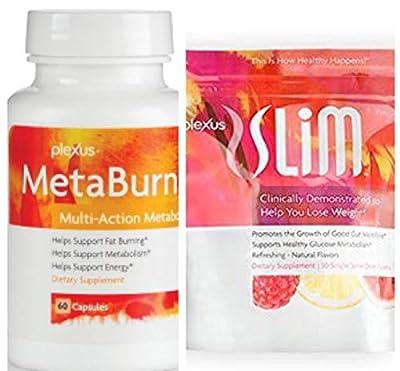 Plexus Slim Microbiome 30 count and Plexus Metaburn 60 capsule Bottle