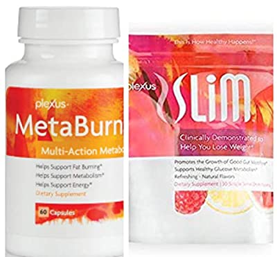 Plexus Slim Microbiome and Plexus Metaburn Combo Pack with Free Gift