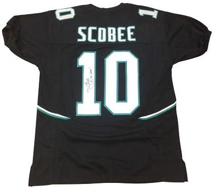 Amazon.com: Josh Scobee Autographed Jacksonville Jaguars (Black ...