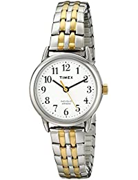 Women's T2P298 Easy Reader Dress Two-Tone Stainless Steel Expansion Band Watch