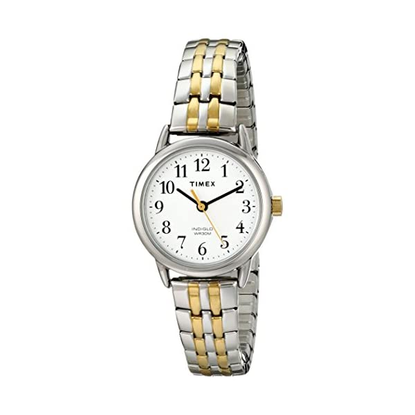 Timex Women's Easy Reader Dress Expansion Band Watch