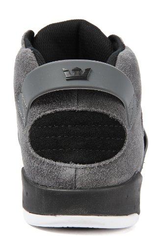 Supra The Skytop Iii Sneaker Grijs Suède / Zwart / Wit