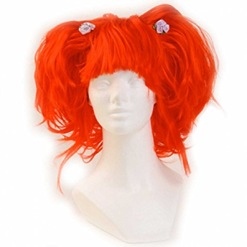 Red Queen Black Bob Wig (Karmae Wig - Red)
