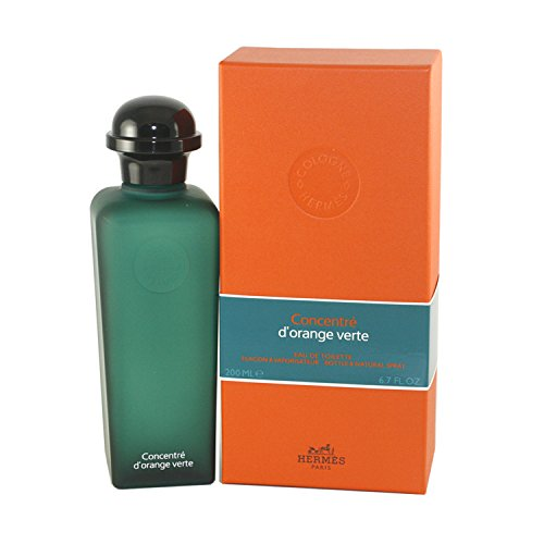 Hermes Mens Eau De Toilette (Hermes Concentre D'orange Verte Eau de Toilette Spray for Unisex, 6.7 Ounce)