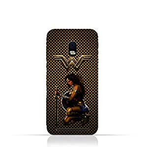 BlackBerry Aurora TPU Silicone Protective Case with Wonder Woman Design