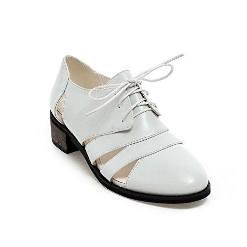 Inconnu 1TO9 36 Blanc EU Compensées 5 Femme Sandales Blanc vadBHvqF