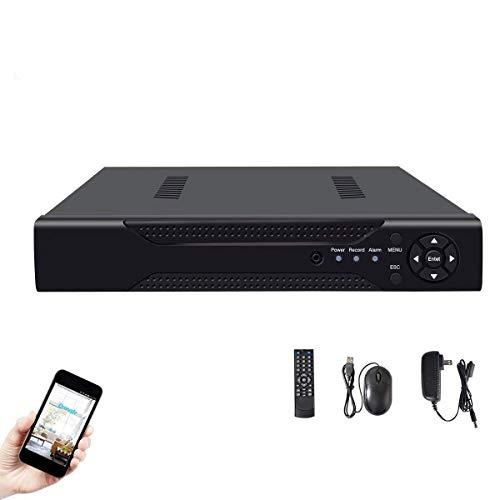 Abowone 4Channel 1080N CCTV DVR Hybrid 5-in-1 H.264 Surveillance Video Record System NO Hard Disk (1080P NVR+1080N AHD TVI CVI +960H Analog)
