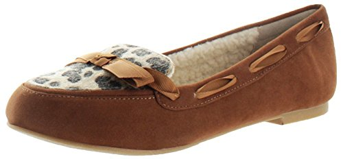 Restricted de Chuckle velours Femmes Sherpa Chaussons Chaussures Flats