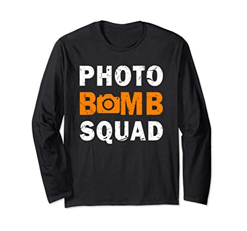 Photo Bomb Squad for Halloween Costumes Long Sleeve T-Shirt]()