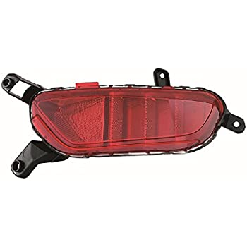 DOT Certified Fits Chrysler 300 15-16 Rear Reflector Pair Driver and Passenger Side