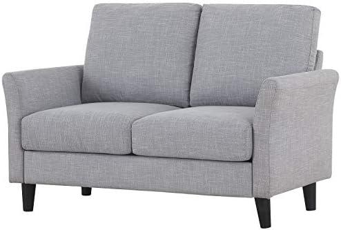 Amazon.com: HONBAY Sofá moderno tapizado sofá sofá sofá sofá ...
