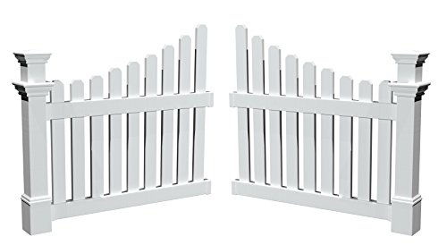 New England Arbors Cottage Picket Wings by New England Arbors