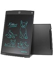 NEWYES NYWT120 LCD Tablette d'Ecriture avec Stylet, 12 Pouces de Longueur, Couleurs Variées