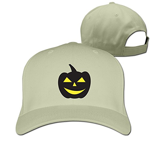 Happy Halloween Natural Adjustabal Hats For Man Woman -