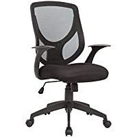 Christies Home Living Mesh Adjustable Office Chair, Black