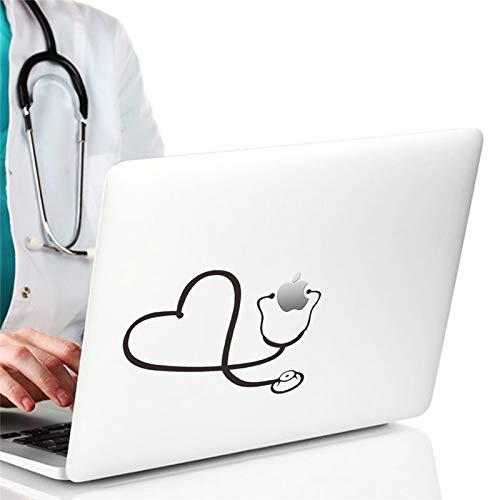 WLGOOD Divertido Doctor Enfermera Estetoscopio Pegatina Coche ...