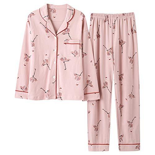 Pigiama Stampa Pigiameria Pigiama Animalier In Rosa Cotone Nighty Abito New Donna Mmllse Color Fashion Homewear Photo Medicazione Con Da wp0SWXFq
