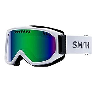 Smith Optics Scope Adult Airflow Series Snow Snowmobile Goggles Eyewear White/Green Sol X Mirror / Medium