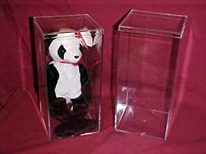 Beanie Baby Plastic Boxes (4 x 4 x 8 inches ) - 1 Box