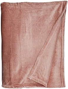 "Exclusivo Mezcla 50"" x 60"" Flannel Throw Blanket- Soft, Warm and Lightweight"