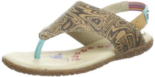 Sandali Multicolore mehrfarbig Donna Eventing cork turquoise Steps Stork beige HqEfc
