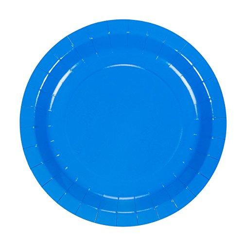 Disposable Dinnerware ...  sc 1 st  EventCompass & Disposable Dinnerware Set u2013 Serves 24 u2013 Blue Party Supplies ...