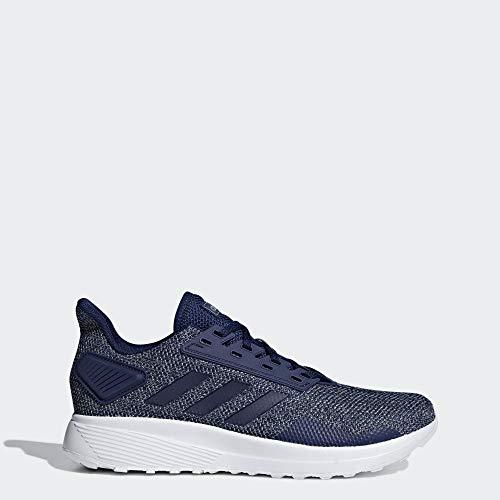 adidas Men's Duramo 9 Running Shoe, Dark Blue/Dark Blue/Grey, 10.5 M US