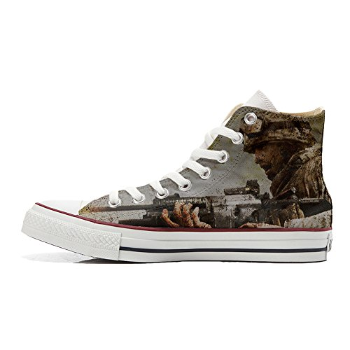Soldat Mys All Artisanal Italien produit Unisex Imprimés Personnalisé Star Un Chaussures Converse Sneaker Hi Coutume Et ZZrSBqx