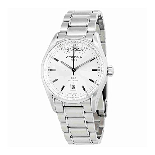 Certina DS 1 - Day Date Automatic Ladies Watch C0064301103100